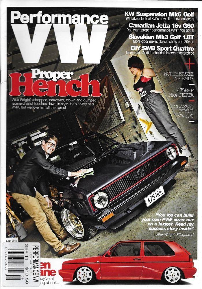 Performance Vw Car Magazine Proper Hench Kw Suspension Mk6 Golf Canadian Jetta Car Magazine Performance Magazine