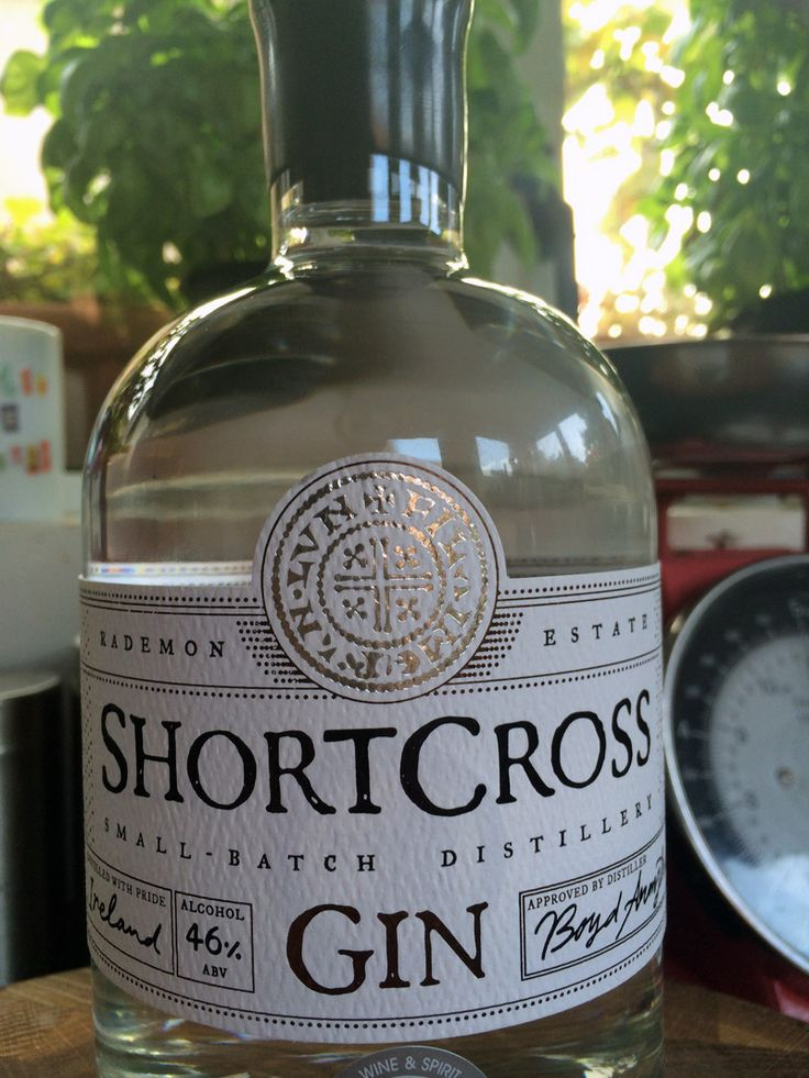 Listen up gin lovers. You have to treat yourself to a Shortcross Gin from Crossgar. I am, and it's just lovely