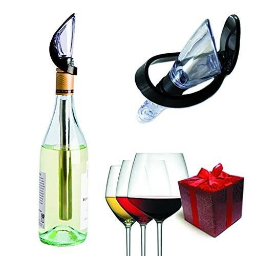 Enfriador - aireador de Vino http://www.milideaspararegalar.es/producto/enfriador-de-vino/