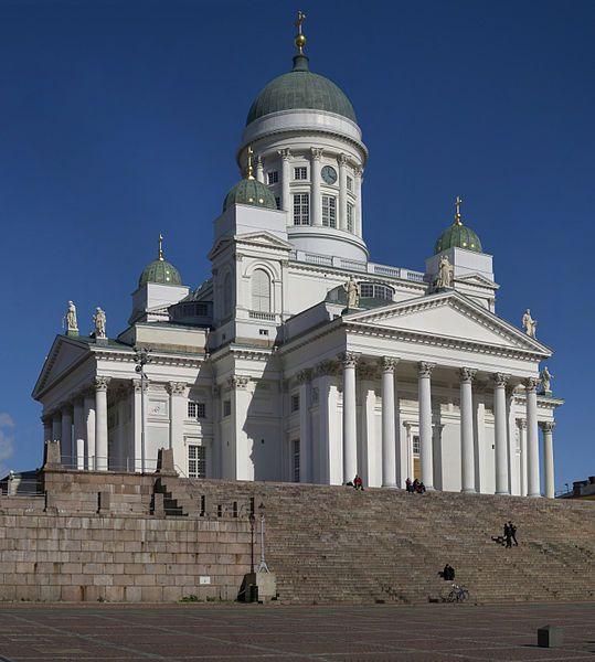 Helsingin tuomiokirkko (alun perin Nikolainkirkko, 1917–1959 Suurkirkko (Carl Ludvig Engel, Johan Albrekt Ehrenström 1852) Photo Hans Hillewaert