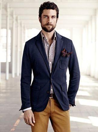 Comment porter un blazer bleu marine en 2015 (529 tenues) | Mode pour hommes