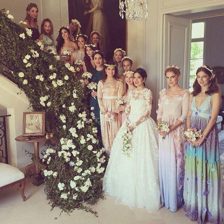 Las catorce damas de honor en Margherita Missoni