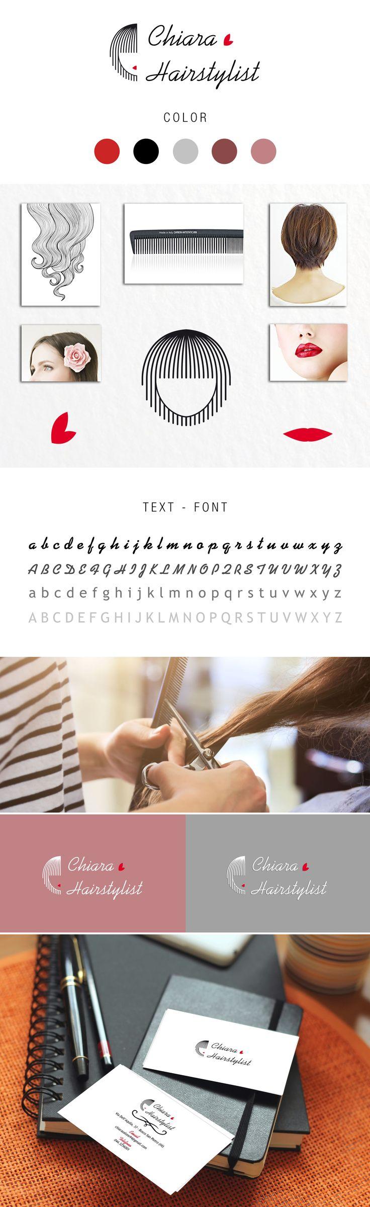 #grafichenuovatipografia #grafiche #nuova #tipografia #logo #coordinamento ##loghi #presentazione #parrucchiera #hairstylist #hair #stylist #style #business #card #bv #bigliettodavisita #red #black #nero #rosso #Concept #packaging