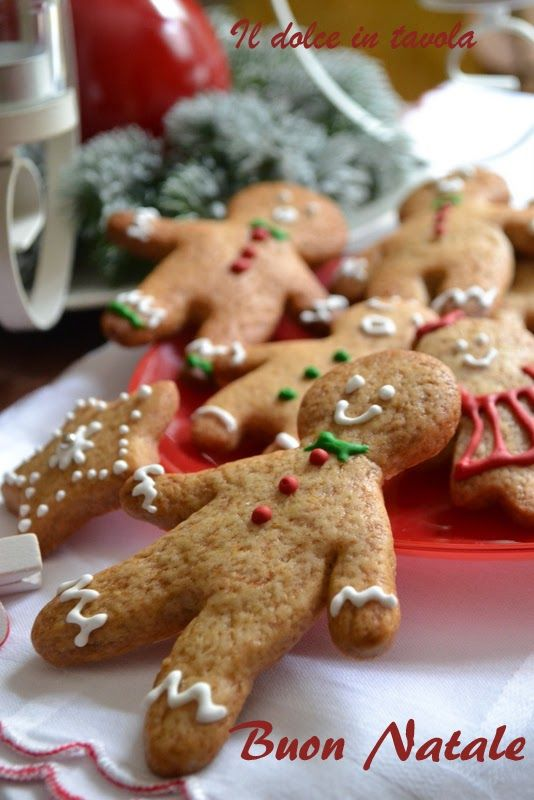 Il dolce in tavola: Gingerbread Family