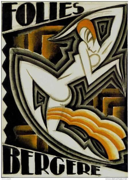 Folies Bergere Maurice Picaud