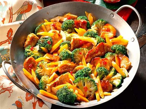 Unser beliebtes Rezept für Brokkoli und Karottenpfanne und mehr als 55.000 mehr …   – Gesunde Ernährung und Low – Carb