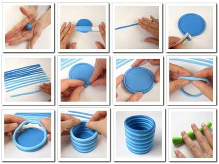 Como hacer lapicero de porcelana fría.