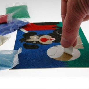 Peel 'N Stick Sand Art Board #20 - Design Your Own (Blank)