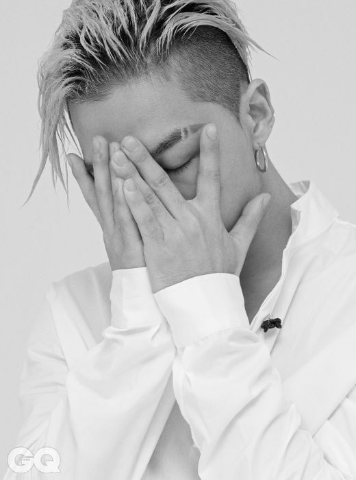 Taeyang - GQ Magazine August Issue '15