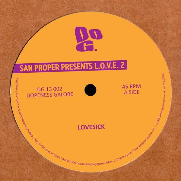 San Proper Presents L.O.V.E. 2 / San Proper - genie