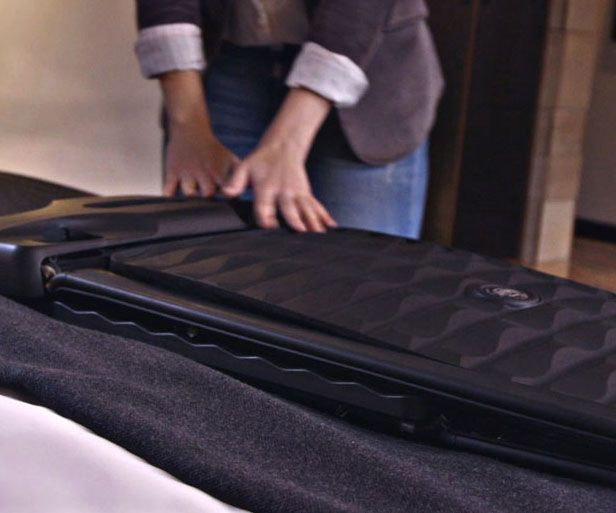 Smart Collapsible Hard Suitcase - https://interwebs.store/smart-collapsible-hard-suitcase/ #TravelGear