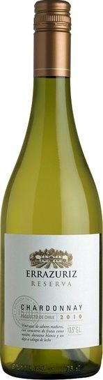 In stock - 7,32€ 2010 Errazuriz Chardonnay Unoaked, white dry , Chile - 88pt Wine od light yellow colour with green reflex on the rim. In its rich fruity arom awe can sense tracks of tropical fruit, pineapple, kiwi and mellowed bananas. Taste is complex, also fruity, underlined by spicy acid. Aftertaste is longer.
