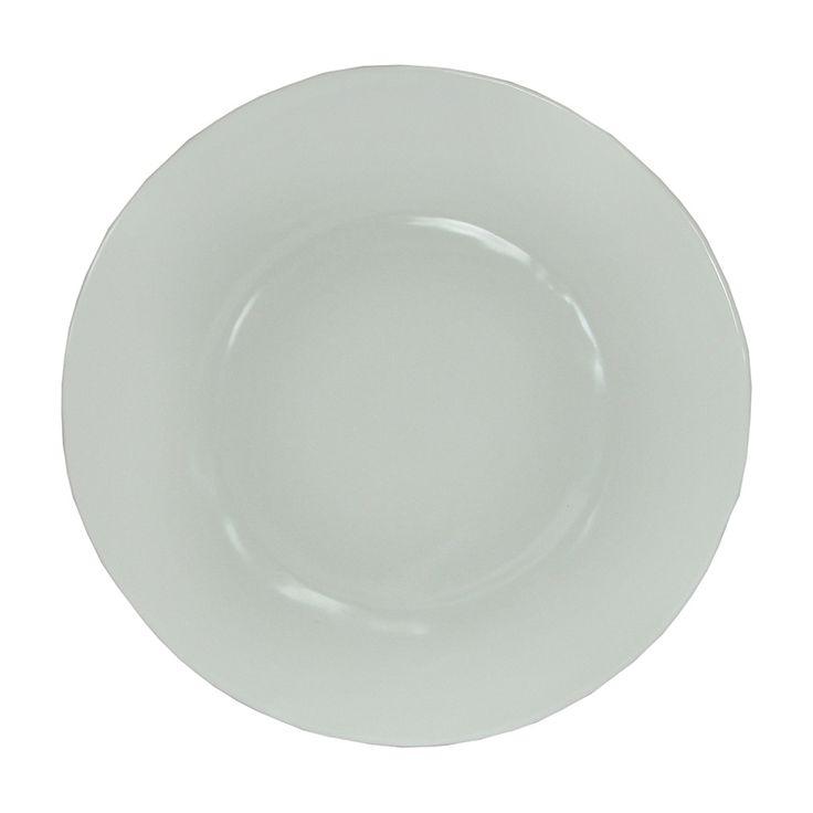 Case of 8 Le Cadeaux Rustique Cream - Dinner Plates