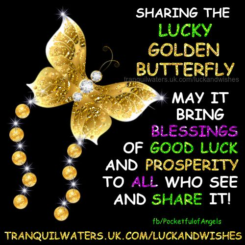 """To bring YOU Good Luck!  For more GOOD LUCK & WISHES  CLICK HERE ➡   http://www.tranquilwaters.uk.com/luckandwishes   for lots of images of good luck """"charms"""", blessings and wishes, created to bring YOU and your friends GOOD LUCK   AND you can send off your wishes your Angels, here ➡  http://www.myangelcardreadings.com/makeawish OR Make a fairy wish & have it sprinkled with fairy dust, here ➡  http://www.myangelcardreadings.com/fairymagic OR at the lucky wishing well, he"""