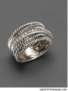 David Yurman - love his jewelery