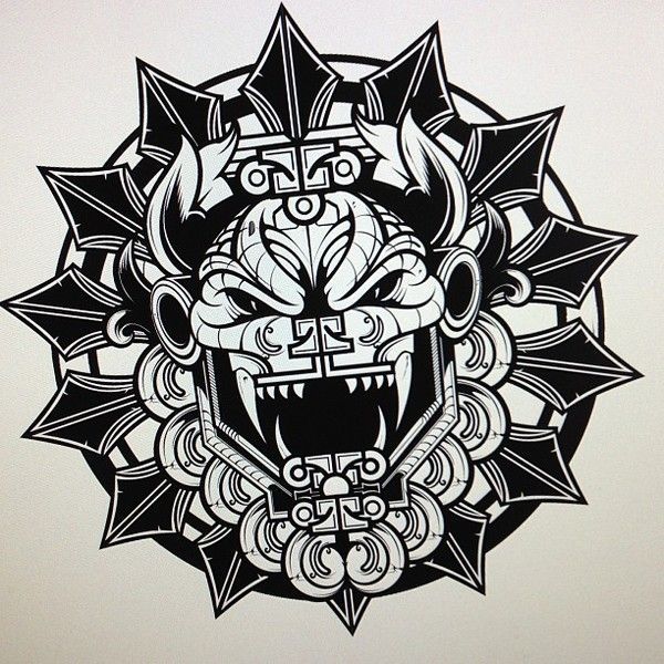 Resultado de imagen para quetzalcoatl tattoo