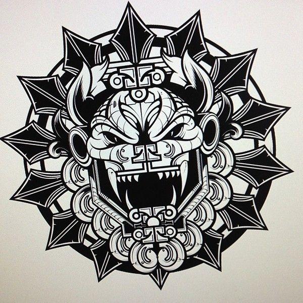 Quetzalcoatl on Pinterest | Aztec, Dios and Tattoo Designs