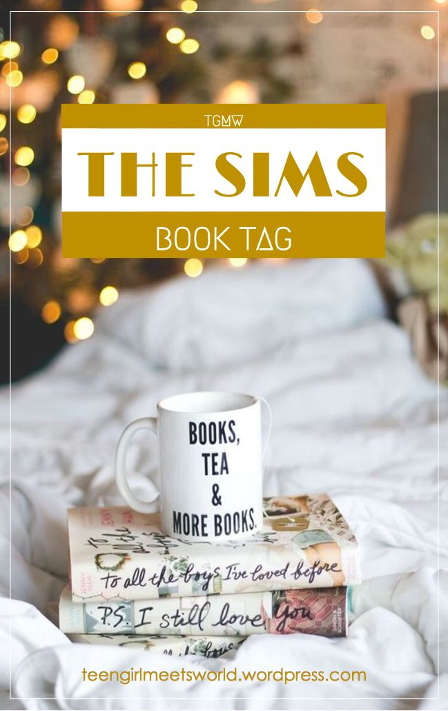 Hey everyone! Long time no see. Today I'm gonna be doing the Sims Book Tag created by the BooktuberHailey in Bookland. You can check out the original videohere. I was also nominated for thi…