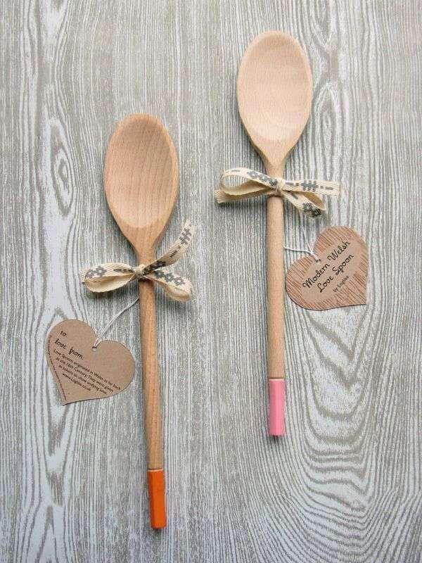 Modern Welsh Lovespoon #Lovespoon #Cooking #Christmas