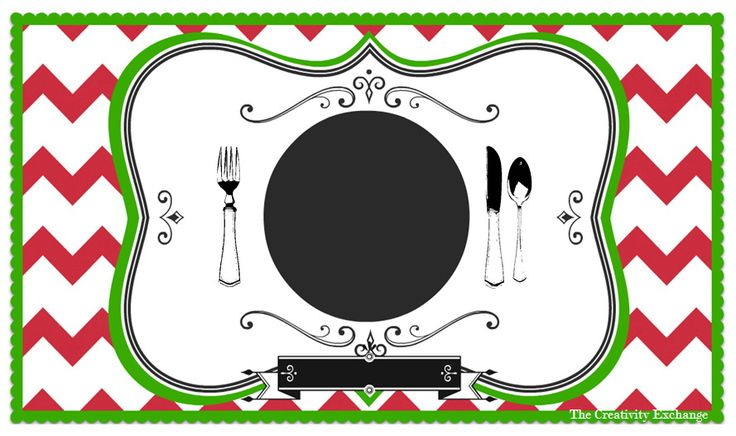 Free printable christmas placemat work activities pinterest