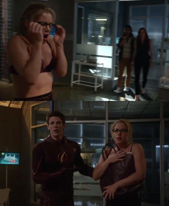 The flash vs the arrow