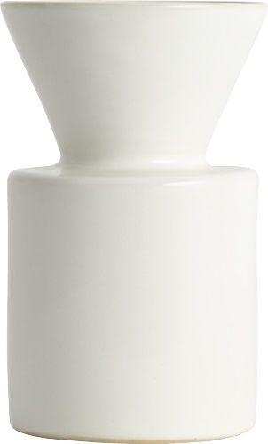 Entonnoir lav vase i keramikk. Kr. 200,-
