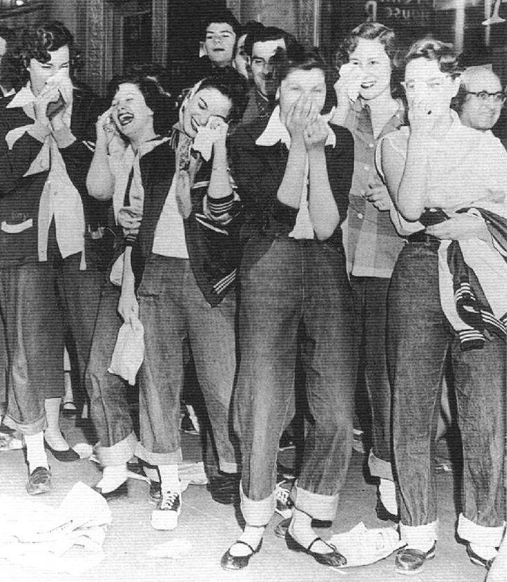 Marvelous 1000 Ideas About Teddy Girl On Pinterest 1950S Greaser Girl Short Hairstyles Gunalazisus