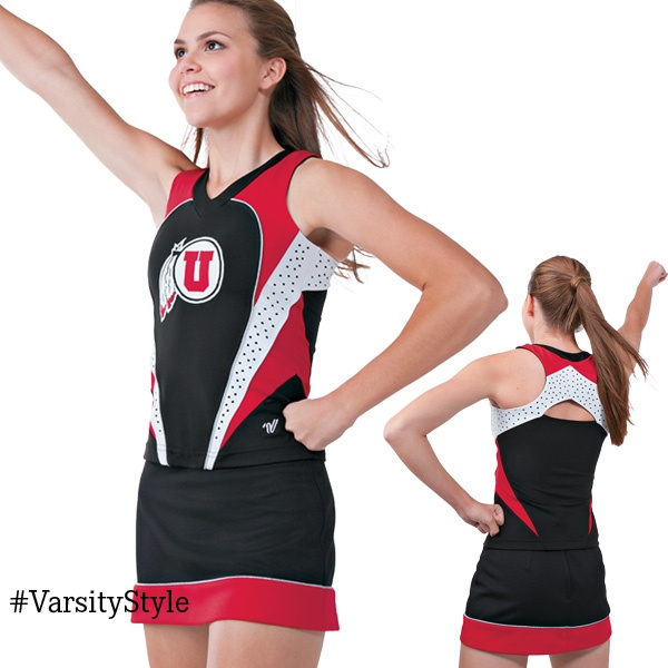 Shop top quality custom cheerleading uniforms and mascot costumes in any style you want, sublimated cheer uniforms on sale now.