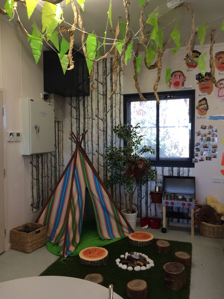 My Jungle Camping Theme Home Corner Kids Ministry