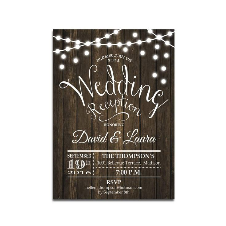 Best 25+ Reception invitations ideas on Pinterest | Reception ...
