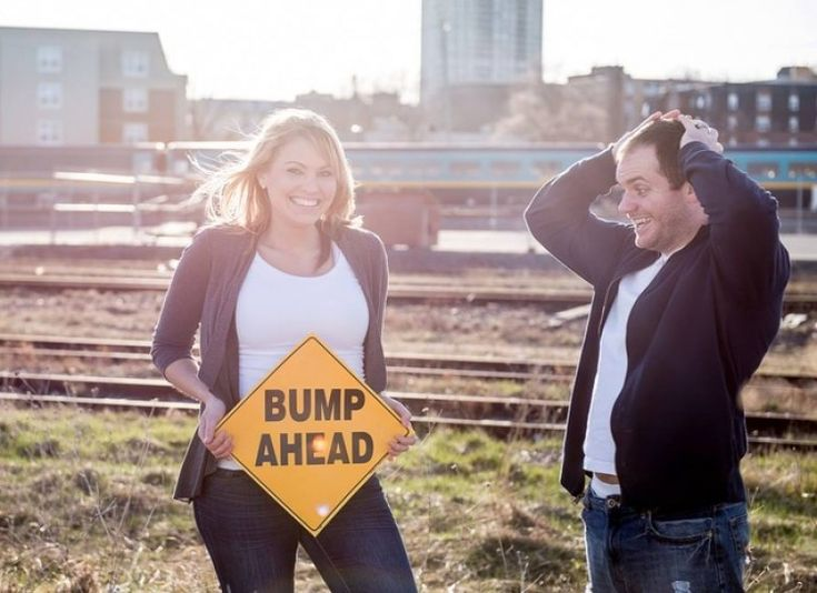 Best 25 Bump ahead ideas – Cute Baby Announcement
