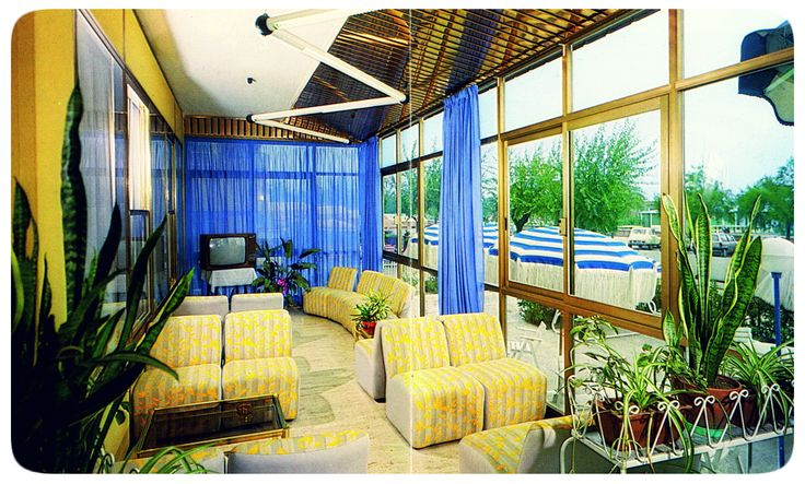 The old #veranda in #HotelRudyCervia