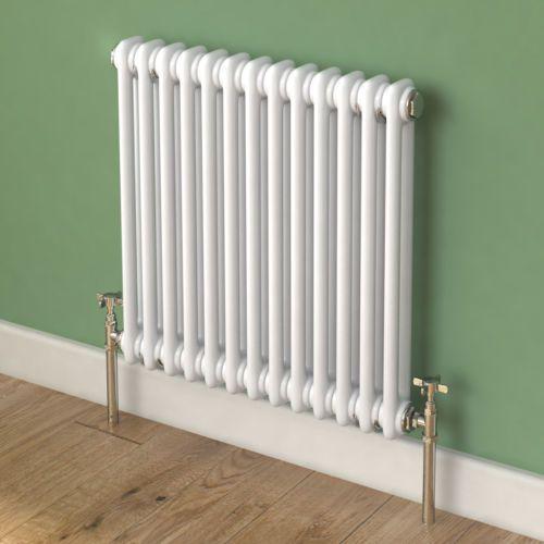 Traditional Central Heating Horizontal Column Cast Iron Style Bathroom Radiator | eBay