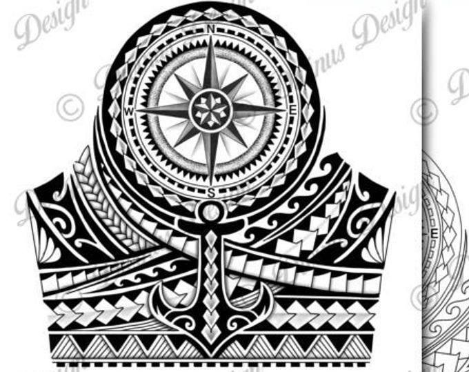 Half Sleeve Polynesian Tattoo Wrap Around Shoulder To Elbow Tattoo Design And Stencil Template Instant Digital Download Tattoo Permit Polynesian Tattoo Designs Tattoos For Guys Half Sleeve Tattoo