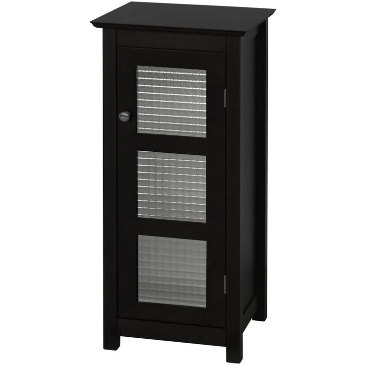 Overstock.com | Windham Floor Cabinet With Glass Door $94.02