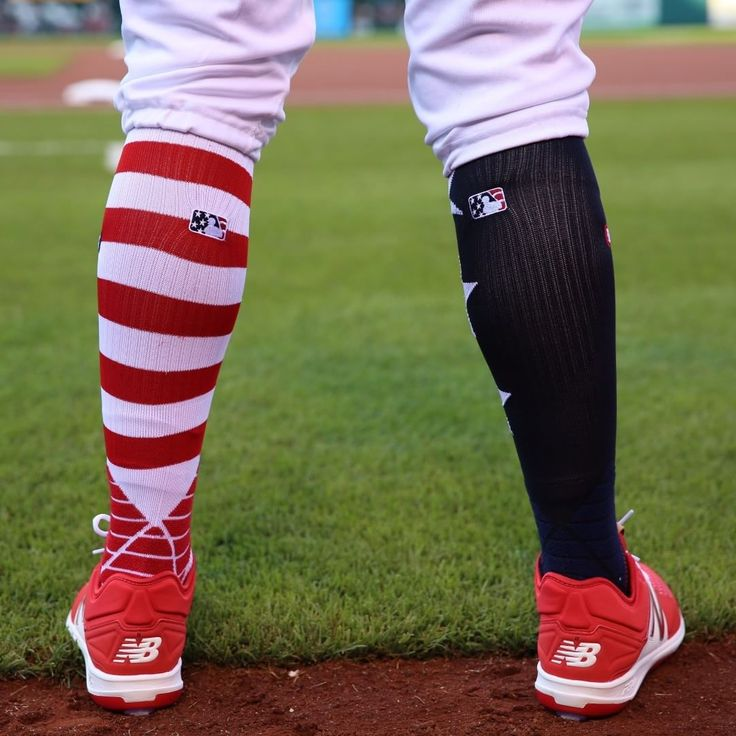 """St. Louis Cardinals (@cardinals) on Instagram: """"Sock game level: Red, White, And Blue! """" Best socks ever..."""