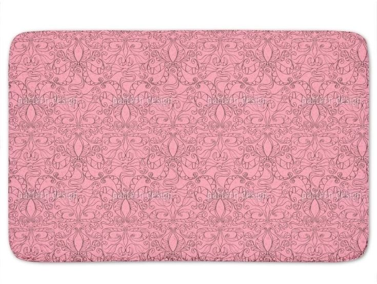 Basic Standard Stylish Loopies Pink Bath Mat with Non Skid Latex 21 x 24 Inches #BathMat #BasicStandardMat #StylishMat #BathRug #SoftMat #DoorMat #Mat #Rug #SkidResistant #NonSlip #Home #Kitchen #Bathroom #Bath #NonSkid #LoopiesPink #PinkMat