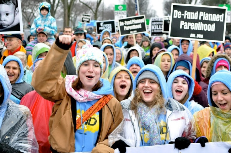 """In This Picture: """"Pro-life youth participate in the 2012 March for Life in Washington, D.C."""""""