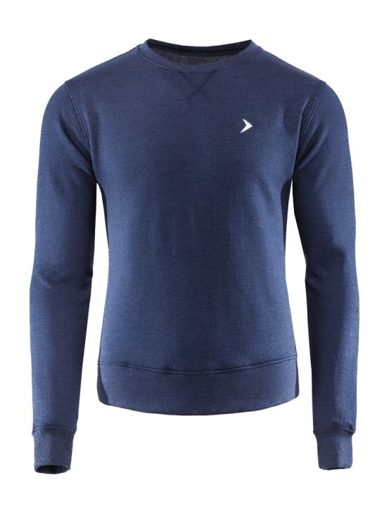 Men's sweatshirt with classic cut, made of soft knitwear. Available in three colors, provide natural freedom of movement.   Pros: -Rib finishing on sleeves and bottom protects from the cold and keeps the blouse on place -fashionable and comfortable style -can be used for a different occasions
