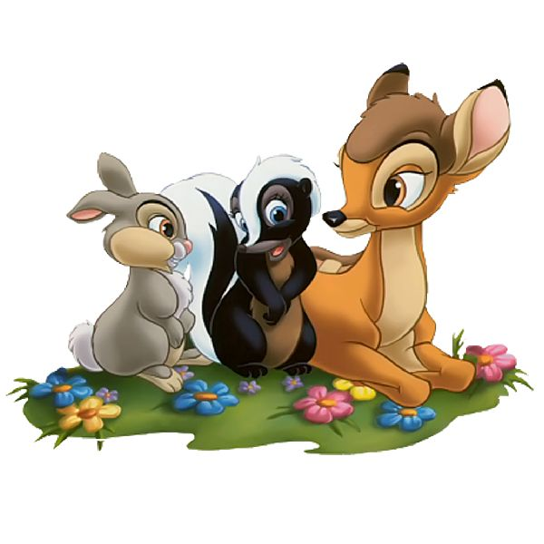 Bambi And Thumper 1 600x600