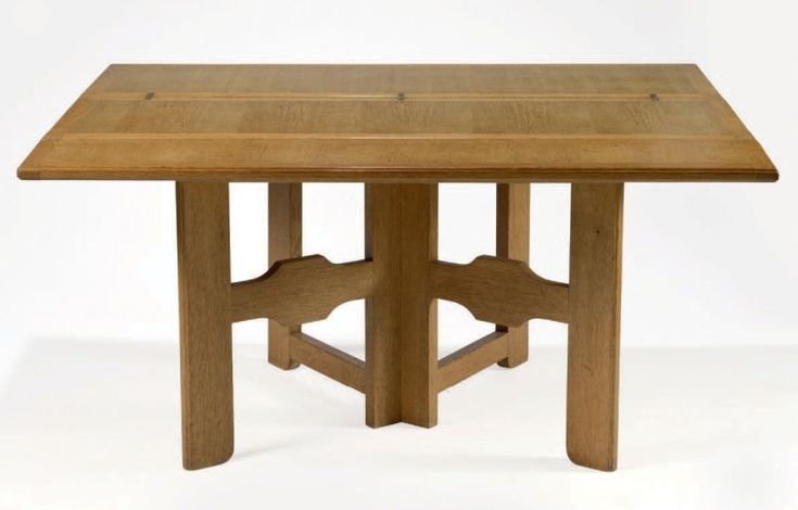 Table console vers 1960 edition votre maison en ch ne - Table console chene ...