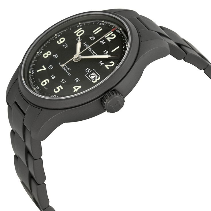Hamilton Khaki Field Titanium Men's Watch H70565133 - you can't deny the coolness.