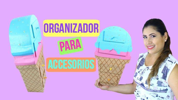 organizador para accesorios