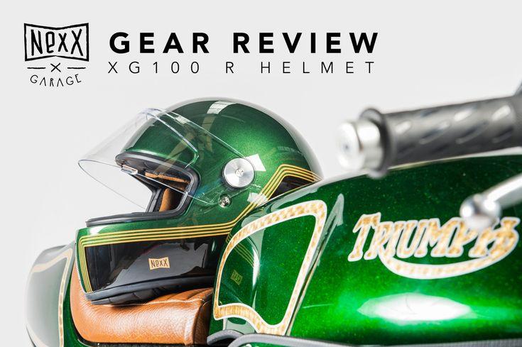 Gear Review - Nexx XG100 R Helmet | Return of the Cafe Racers