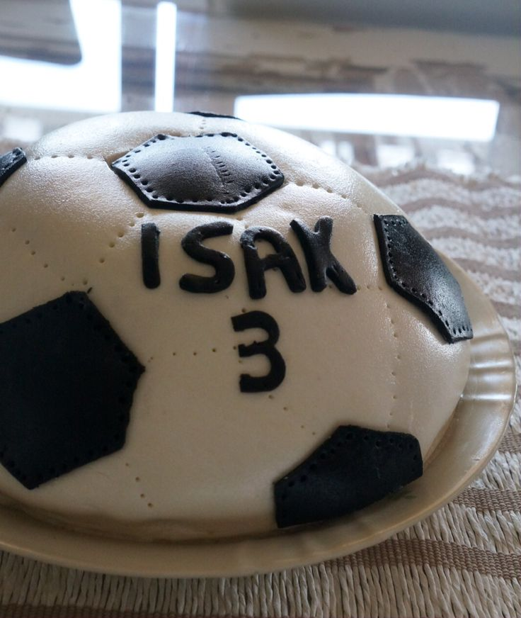 Football /soccer cake for 3-year old