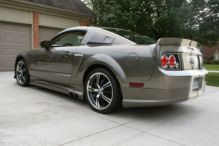 CUSTOM 2005 FORD MUSTANG | Ford Mustang Eleanor