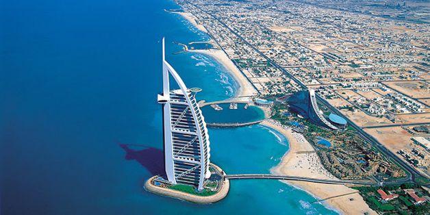 Burj Al Arab, é um hotel 7 estrelas