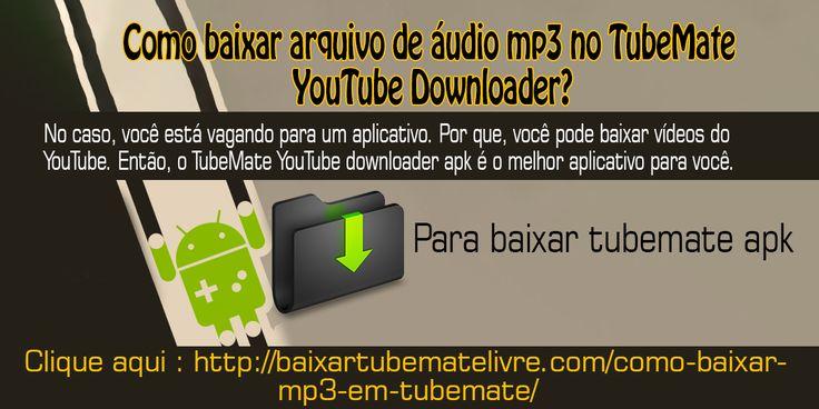 TubeMate YouTube Downloader é uma aplicação. Que está disponível gratuitamente. Foi desenvolvido por Devian Tubermate. E, este aplicativo é famoso pelo nome de TubeMate. TubeMate YouTube downloader foi projetado para baixar vídeos do YouTube em espaço de segundos.