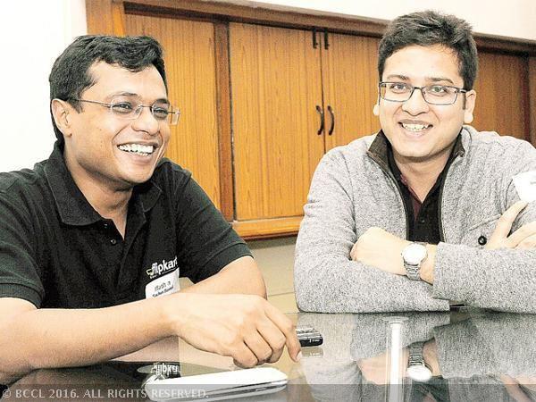 Sachin Bansal steps down as Flipkart CEO in major reshuffle, Binny Bansal takes over - The Economic Times