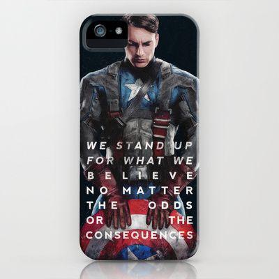Captain America iPhone Case by Zyanya Lorenzo - $35.00 // I WANTS IT PRECIOUS I WANTS IT